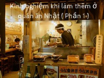 Làm thêm ở quán ăn Nhật