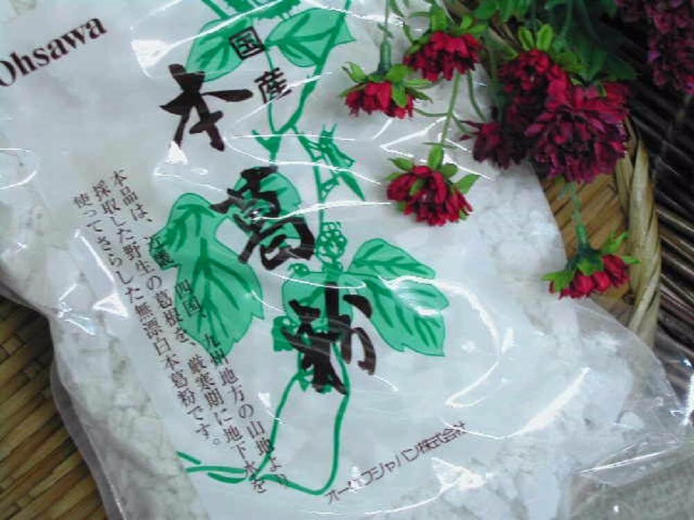 Bột sắn của Nhật